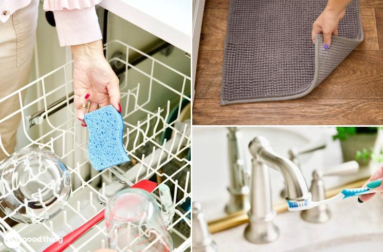 Limpiar y Desinfectar Tareas domesticas de 7 de los lugares más sucios que nadie recuerda limpiar